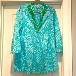 Lilly Pulitzer tunic M very good condition